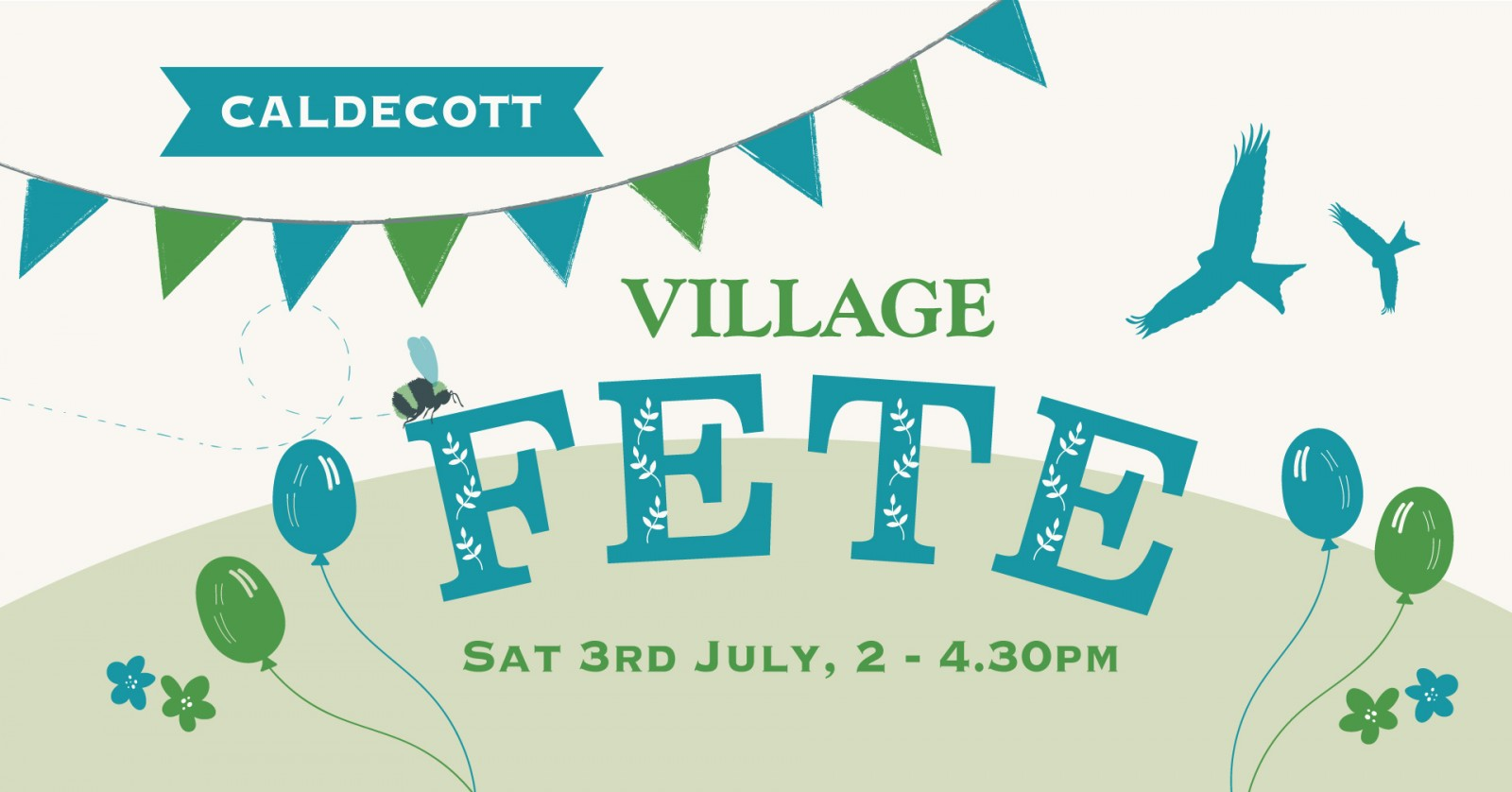 Village Fete @ Caldecott Village Hall Green