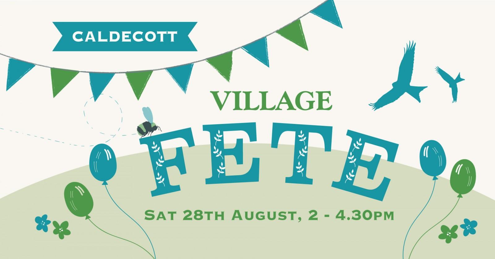 Caldecott Village Fete @ Caldecott Village Hall